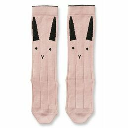 Rabbit Sofia Cotton Knee Socks - Rose