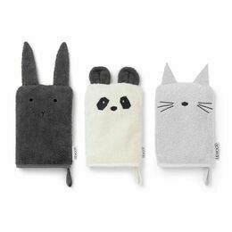 Liewood Wash Cloth - set of 3