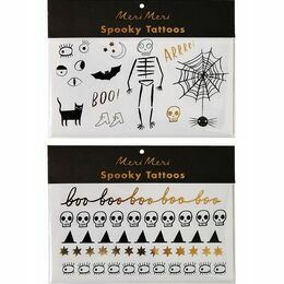Meri Meri Tattoos - Halloween Icon
