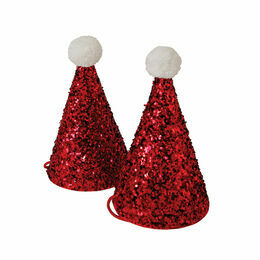 Meri Meri 8 Mini Christmas Santa Hats