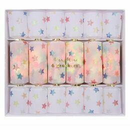 Meri Meri Multi Star Confetti Crackers