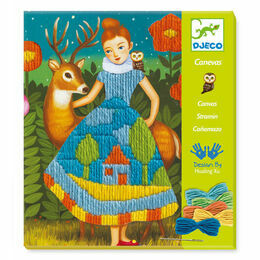 Djeco Drop-Stitch Canvas Sewing Workshop - Dresses