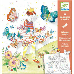 Djeco Colouring Suprise - Lady Butterfly