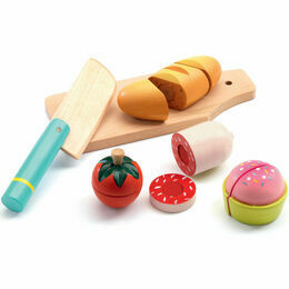 Djeco Wooden Role Play Toy - Lunch to Cut
