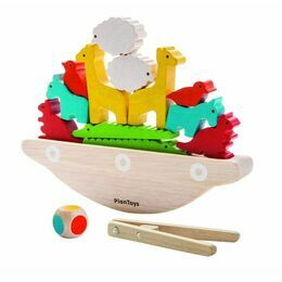 Plan Toys Balancing Wooden Boat Game