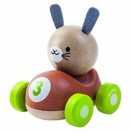 Plan Toys Bunny Racer Wooden Toy