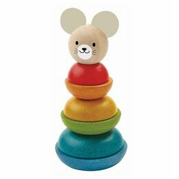 Plan Toys Stacking Ring Mouse Game