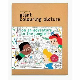 Giant Colouring Picture - Jungle