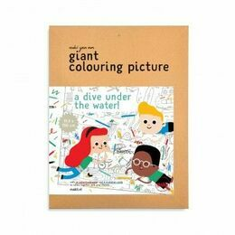 Giant Colouring Picture - Water