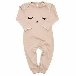 Sleepy All in One Playsuit - Clay