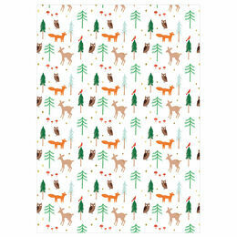 Meri Meri Woodland Gift Wrap - 3 m / 10 ft