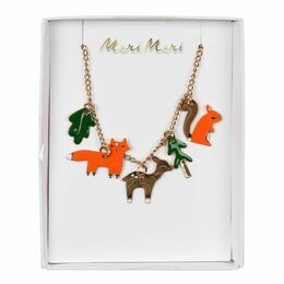 Meri Meri Woodland Enamel Charm Necklace