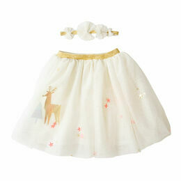 Meri Meri Christmas Reindeer Shaker Dress Up Tutu