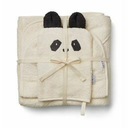 Cleo Terry Towelling Kids Set - Panda