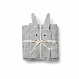 Cleo Terry Towelling Kids set - Rabbit Grey