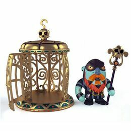 Djeco Pirate Figure - Gnomus & Ze Cage