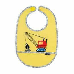 Petit Jour Paris Construction PVC Bib - Yellow