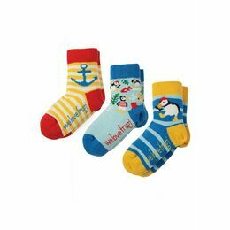 Little Socks 3 Pack - Puffin