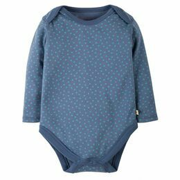 Spotty Bodysuit - Blue Lake Dot