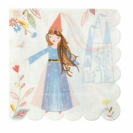 Magical Princess Party Napkins