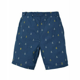 Ralph Reversible Shorts - Marine Blue Anchors