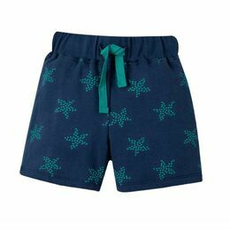 Little Sammy Shorts - Marine Blue Starfish Spot