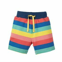 Little Sydney Shorts - Rainbow Stripe