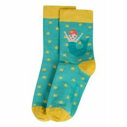 Perfect Little Pair Socks - St Agnes / Mermaid