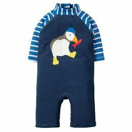 Little Sun Safe Suit - Marine Blue / Puffin