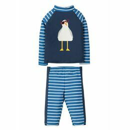 Sun Safe Set - Marine Blue / Seagull