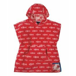 Havana Hooded Towel - Tomato Fish