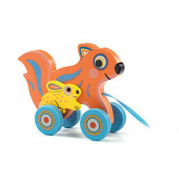 Wooden Pull-along Toy - Max & Ola