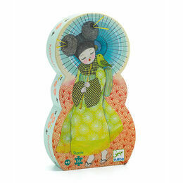 Djeco 36 Piece Silhouette Puzzle - Chinese Spring