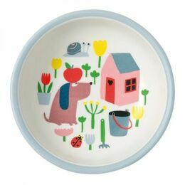 Countryside Melamine Baby Bowl