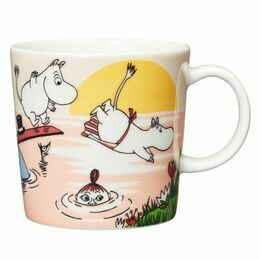 Arabia Finland Moomin Summer 2019 Mug - Evening Swim