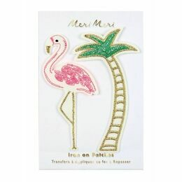 Meri Meri Iron-on Patch - Flamingo