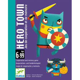 Djeco Card Game - Hero Town