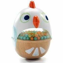 Djeco Baby Bird Rattle Toy - Babycot