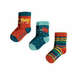 Little Socks 3 Pack, Prehistoric Multipack