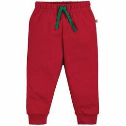 Frugi Kneepatch Crawlers - Tango Red