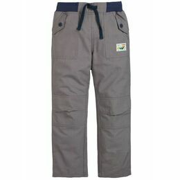 Frugi Adventure Roll Up Trousers - Slate Grey