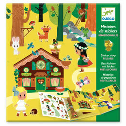Djeco Sticker Story - The Magical Forest