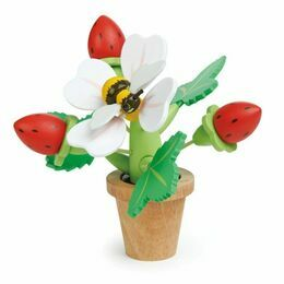 Tender Leaf Toys Strawberry Flower Pot
