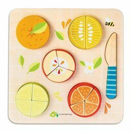 Tender Leaf Toys Citrus Fractions Puzzle