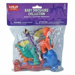 Wild Republic Baby Dinosaur Collection