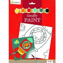Avenue Mandarine Graffy Paint - Rocket Bear