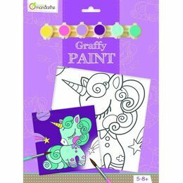Avenue Mandarine Graffy Paint - Unicorn