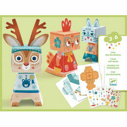 Djeco Paper Toys - Animal Transfers
