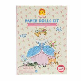 Tiger Tribe Paper Dolls Kit - Princess & Belles