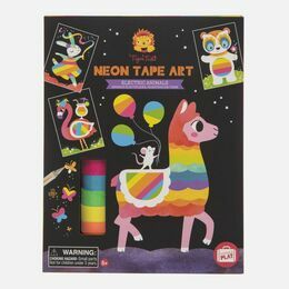 Tiger Tribe Neon Tape Art - Electric Animals